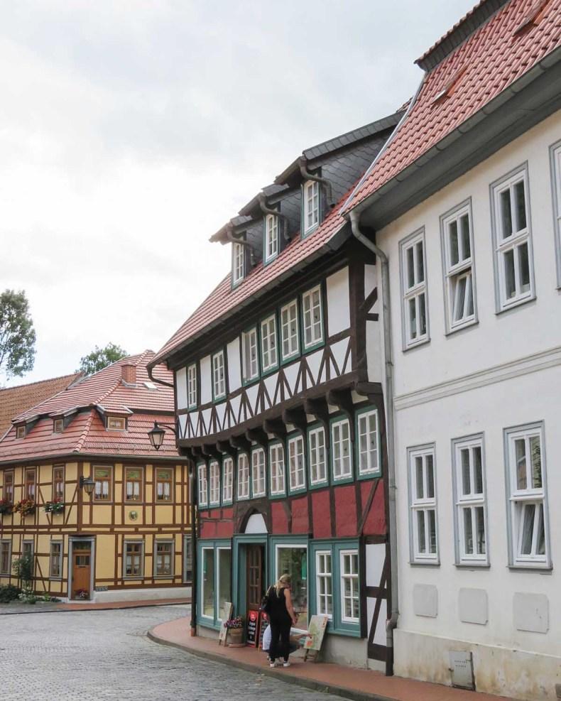 4x de mooiste steden in de Harz, Stolberg - Map of Joy
