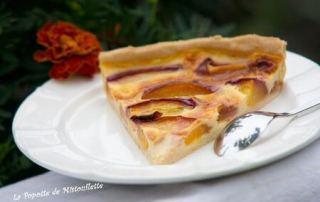 tarte-aux-nectarines
