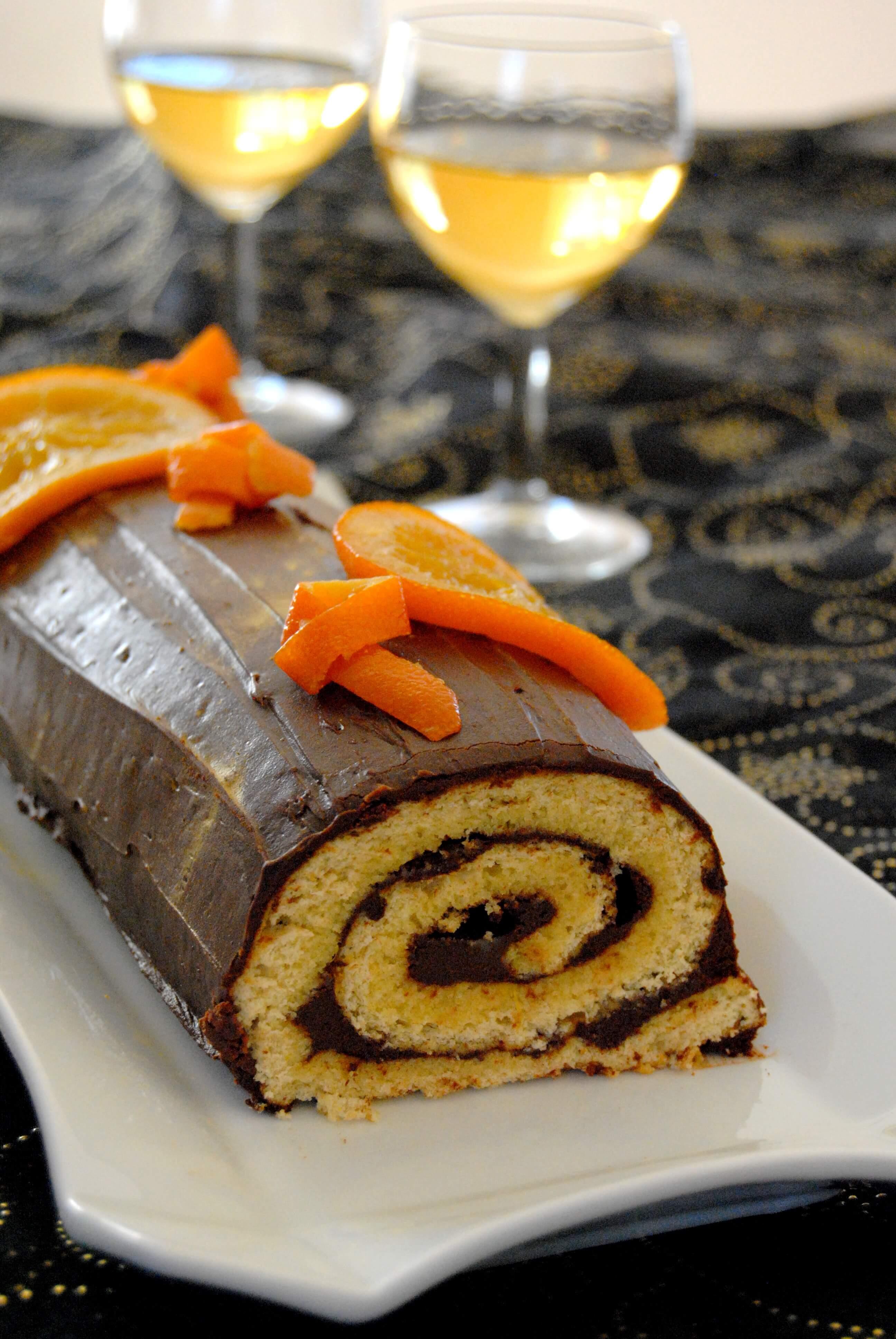 buche-chocolat-orange