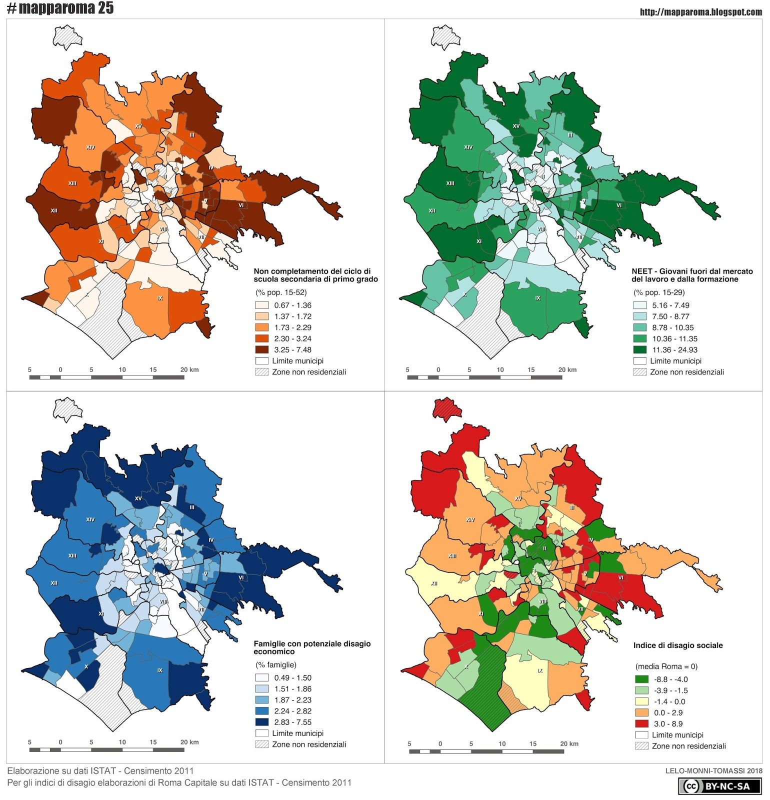 Quartieri Roma Cartina.Mapparoma25 L Esclusione Sociale Nei Quartieri Di Roma Mapparoma