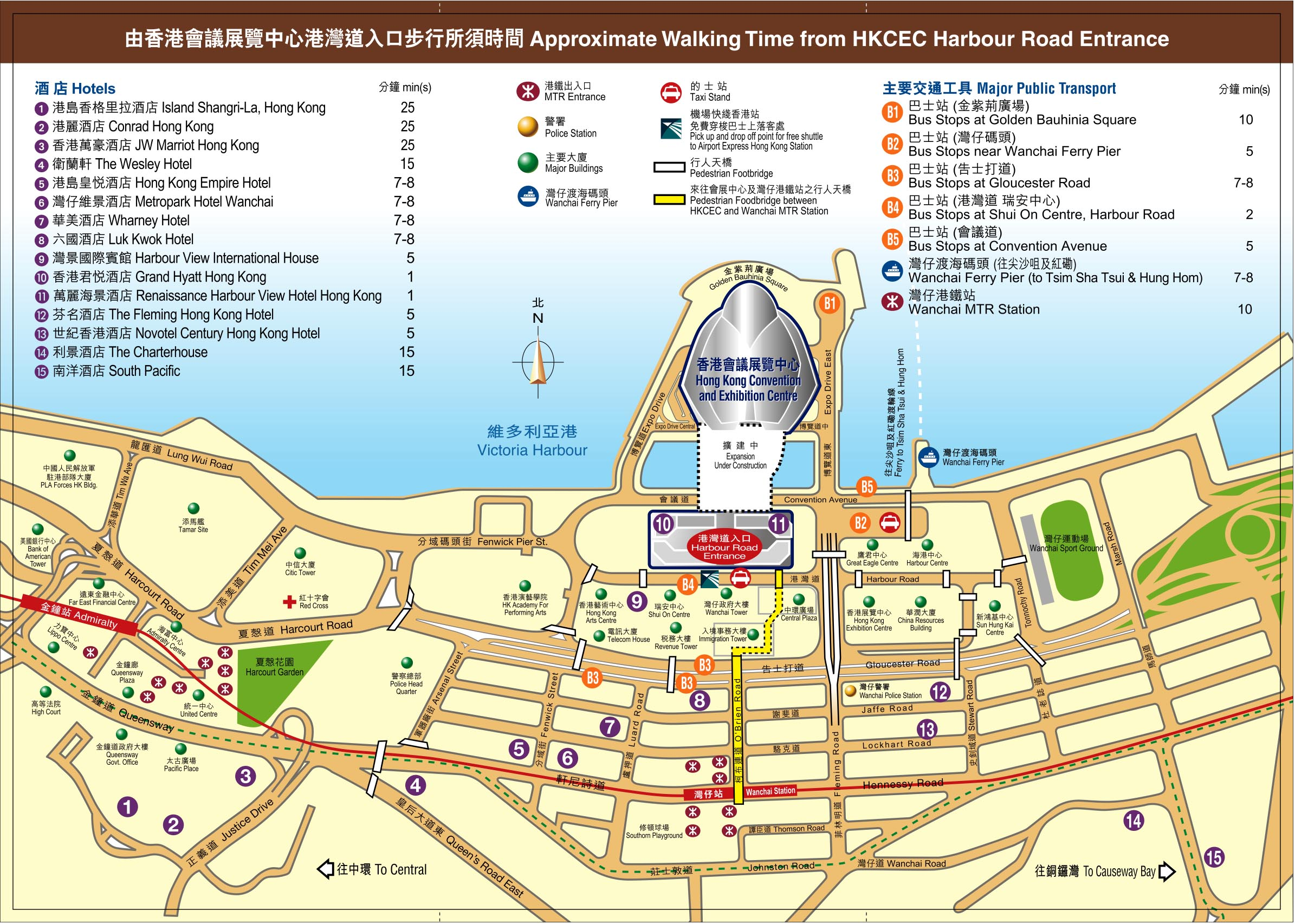 Hong Kong Convention And Exhibition Center Map