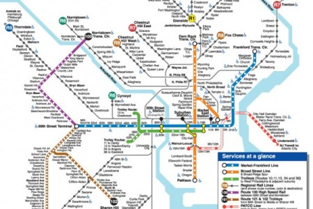 Philadelphia Septa Train Map Full HD MAPS Locations Another - Philly train map