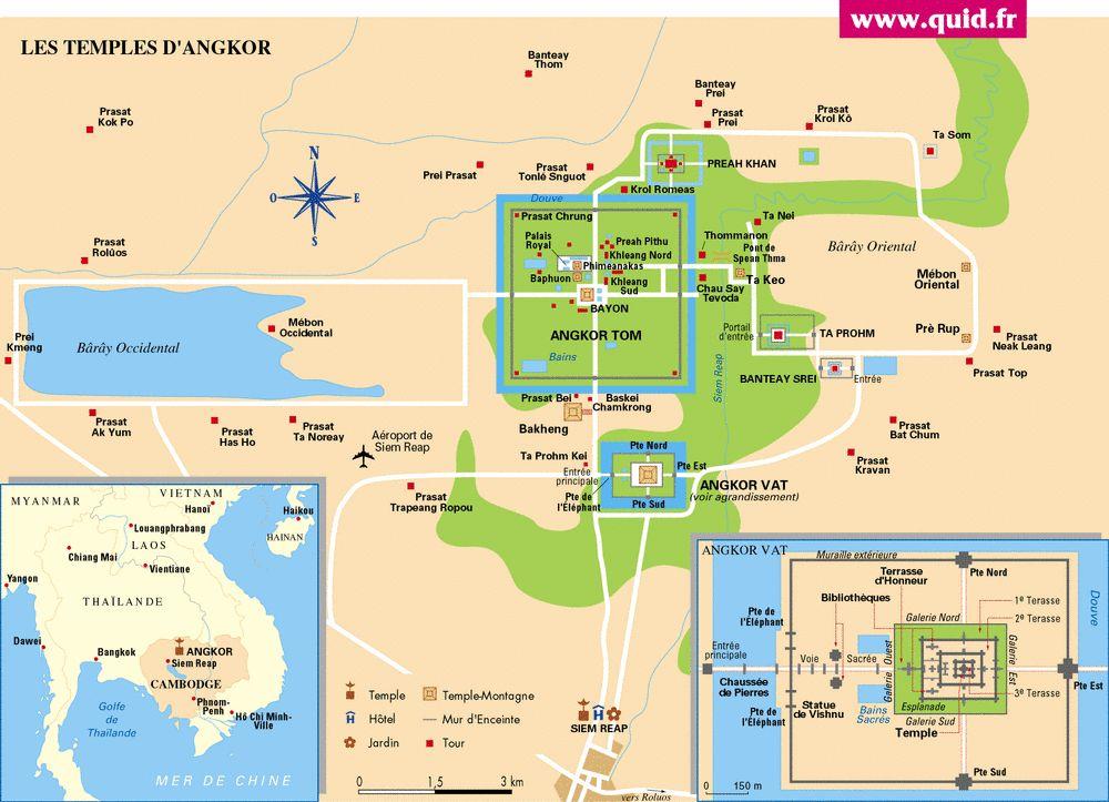 Plan d'Angkor Wat