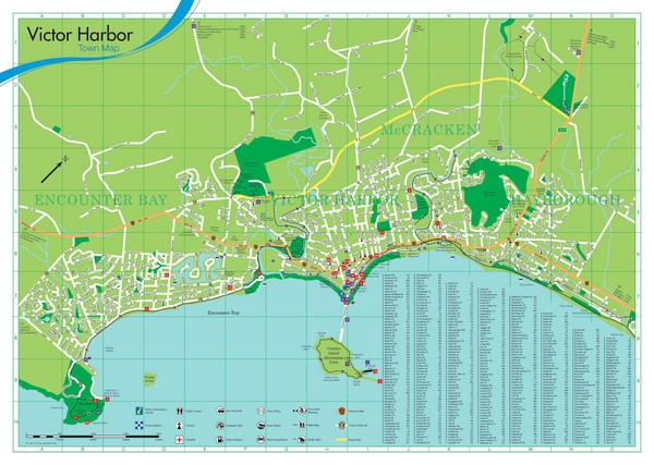 Maps Harbor Australia Victor