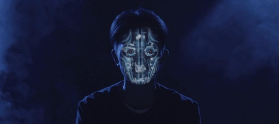 Фантастический 3D mapping на человеческие лица в китайском шоу талантов