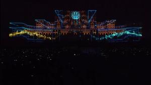 Восхитительный 3D mapping на бухарестском Дворце Парламента