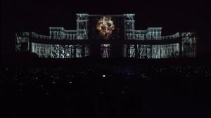 Фантастический 3D mapping на бухарестском Дворце Парламента