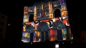 3D mapping на фасаде испанского Кафедрального Собора