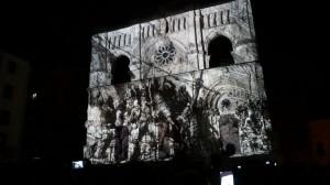 Умопомрачительный видеомэппинг на испанский Кафедральный Собор