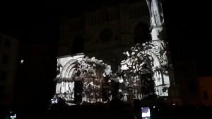 Архитектурный 3D mapping на испанский Кафедральный Собор