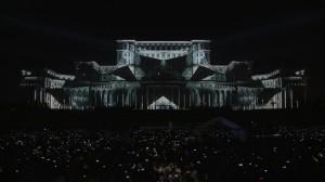 Видеомэппинг на фасад Дворца Парламента