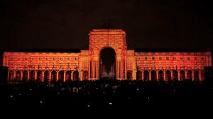 Видеомэппинг на Дворцовой площади Лиссабона