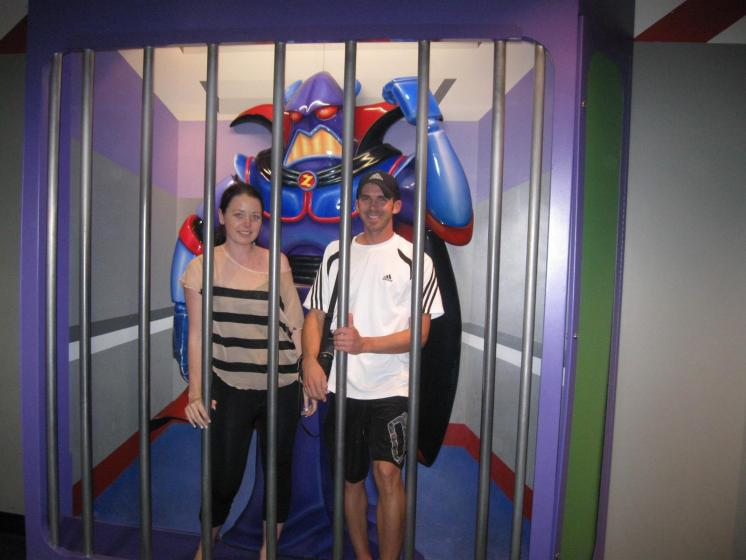 Locked up in Disneyland!