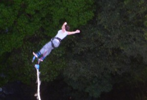 Bungee Jumping in Costa Rica!