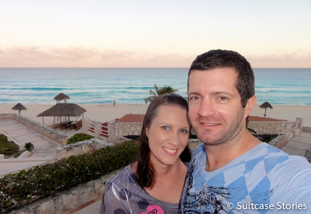 Nicole and Michael in Cancun.