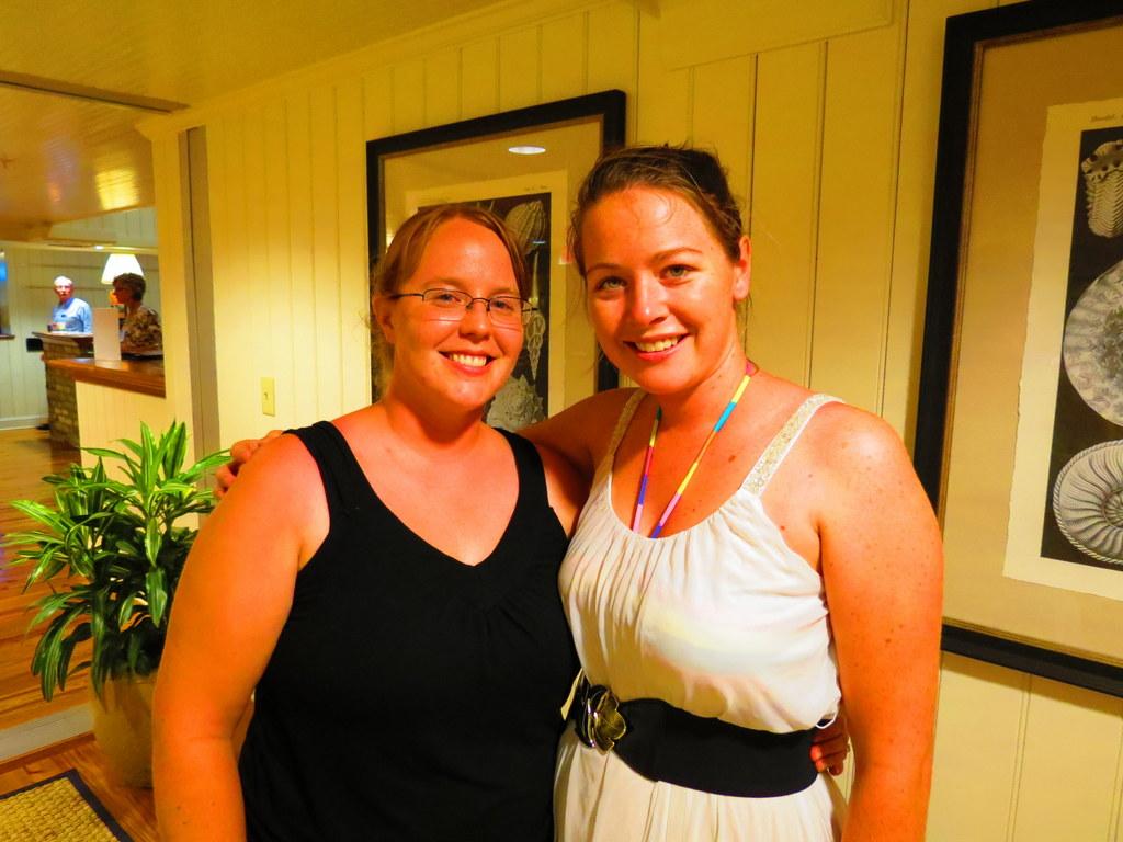 Heather and myself!  Met at last!!