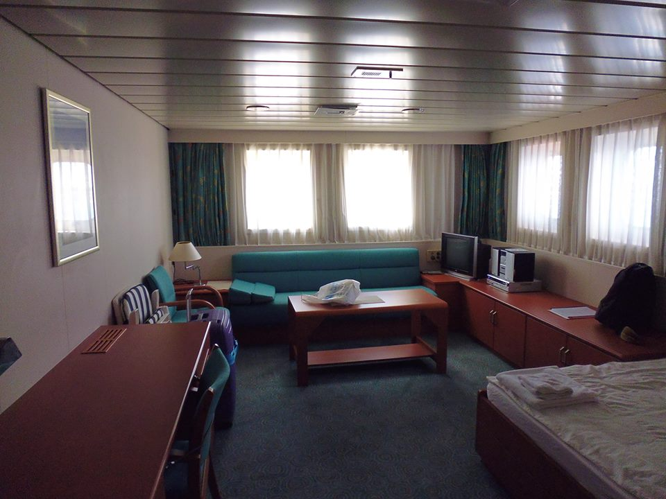 My cabin (Super Cargo).