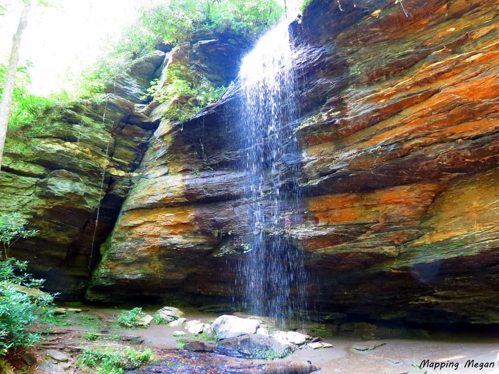 Moore Cove Falls.