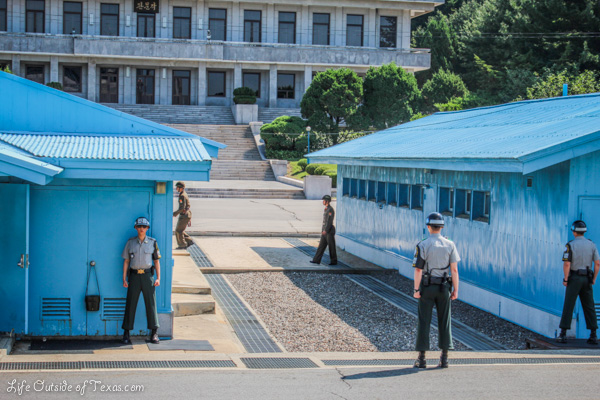 Demilitarized Zone – Border between North Korea and South Korea