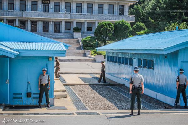 Demilitarized Zone – Border between North Korea and South Korea