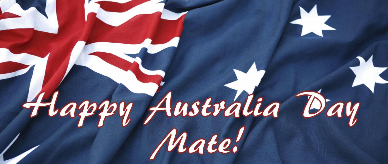 Australia Day: January 26.