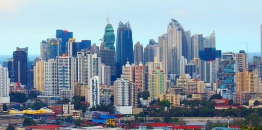 Gorgeous city view.