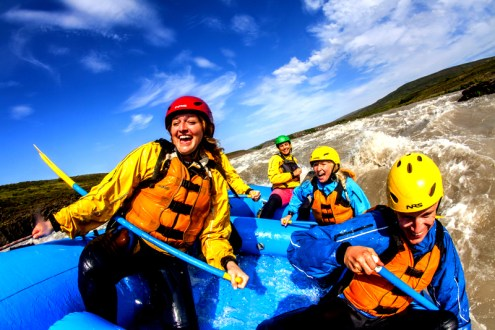 Iceland is a country defined by it's outdoor adventure scene.