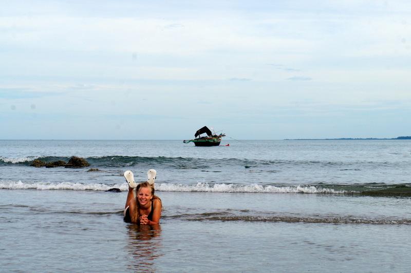 Agness at Cu Lo Beach.