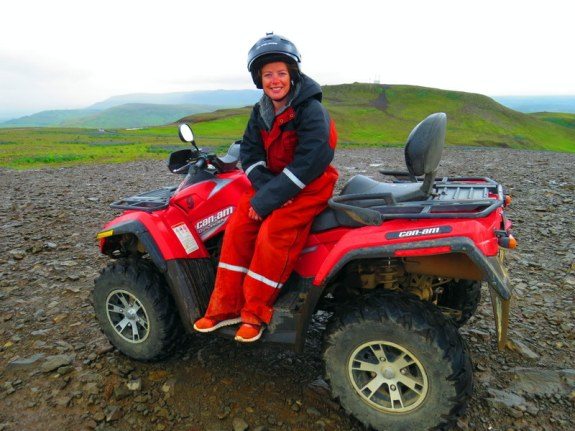 Quad biking with Safari Quads, Iceland.