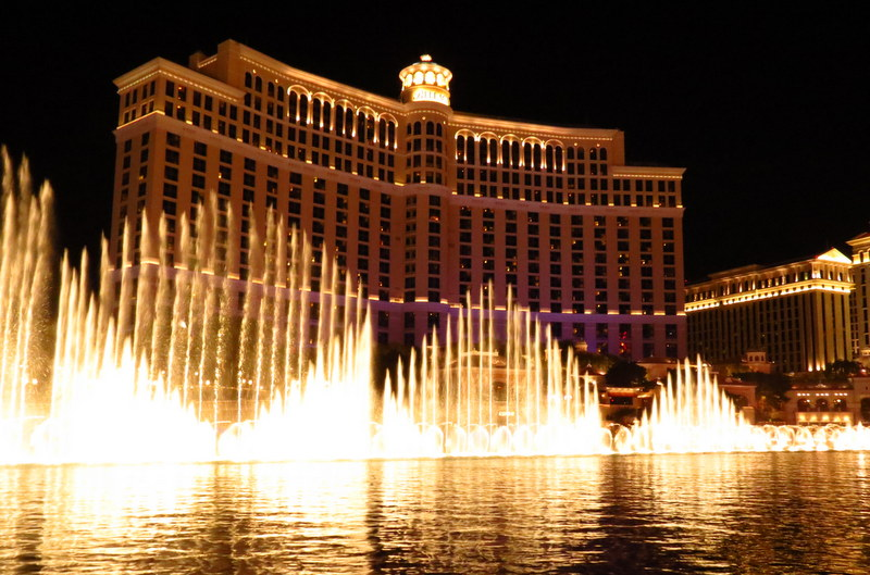Fountains of Bellagio.