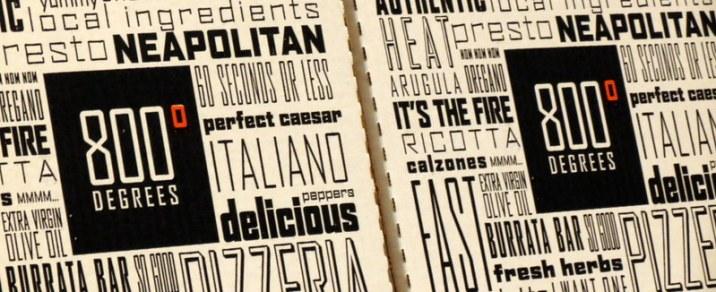 800 Degrees Neopolitan Pizza