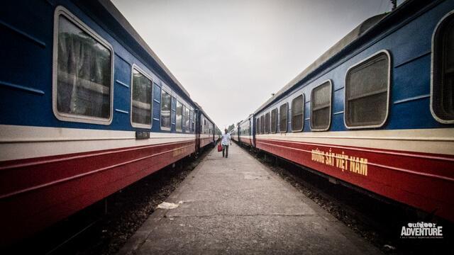 Overnight sleeper train Vietnam