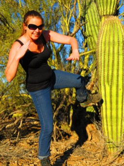 Never again will my feet be pierced by a cactus - these boots are too tough!