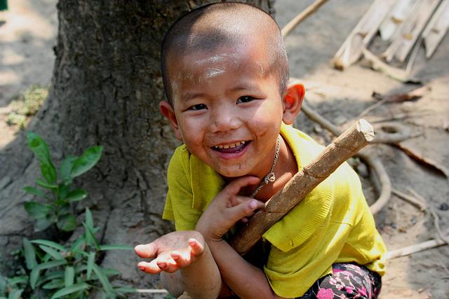 Burmese boy.