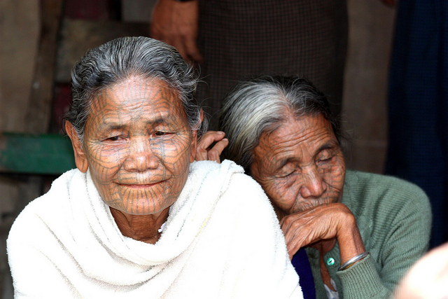 Burmese Village Women