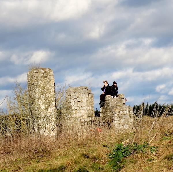 Kallmunz Castle Ruins Beer