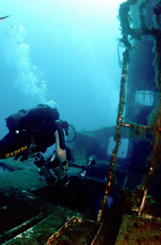 Scuba diving Cyprus Zinovia wreck 2