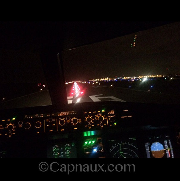 The View from the Pilot's seat