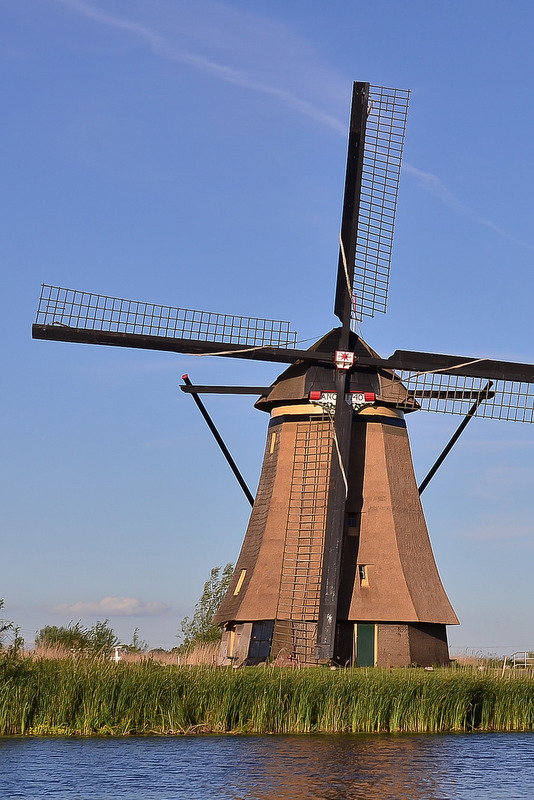 Windmill, Kinderdijk.