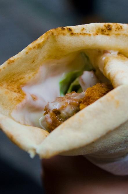 Deep fried falafel.