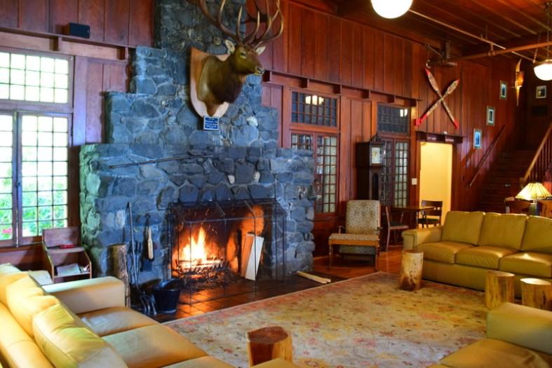 The Lodge at Lake Crescent.