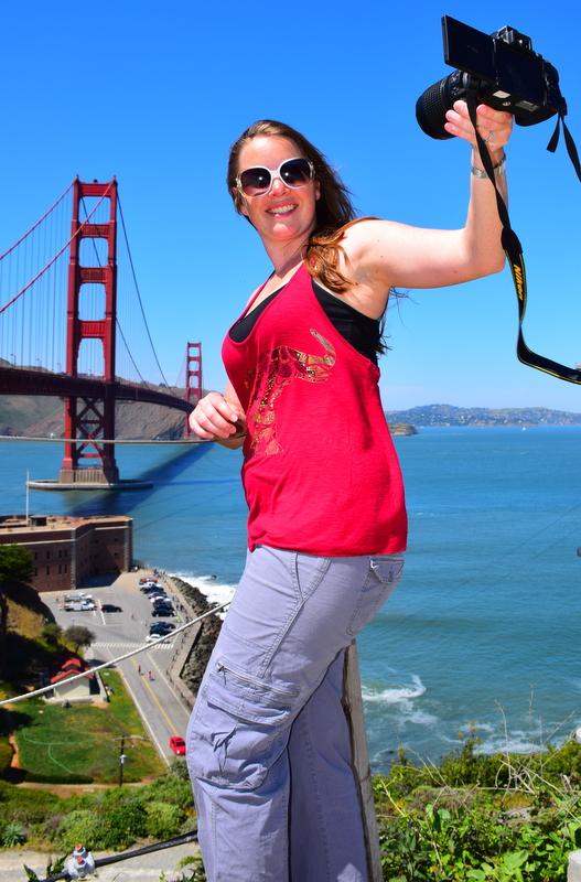 Selfie at the Golden Gate Bridge