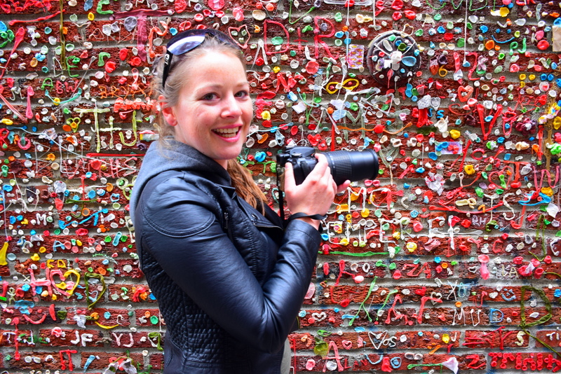 Seattle's bubblegum wall.