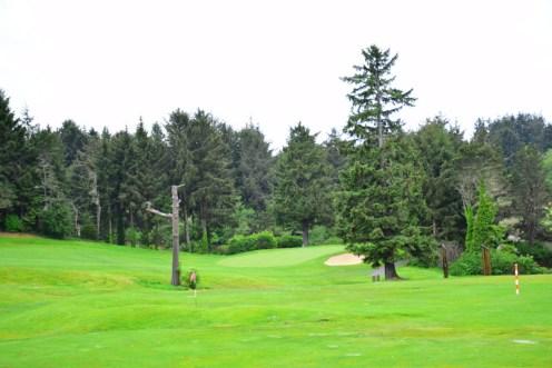 Audubon certified Golf Course. Salishan Spa & Golf Resort