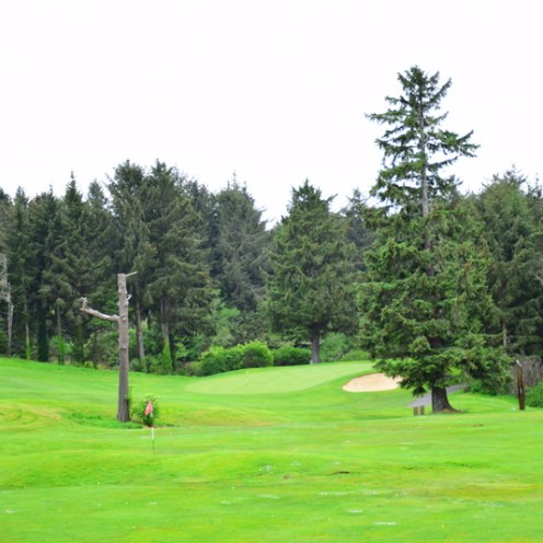 Audubon certified Golf Course. Salishan Spa & Golf Resort
