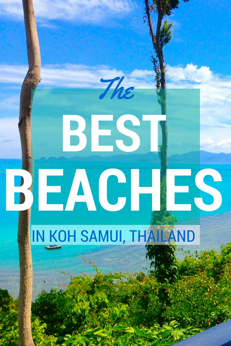 The best beaches in Koh Samui Thailand