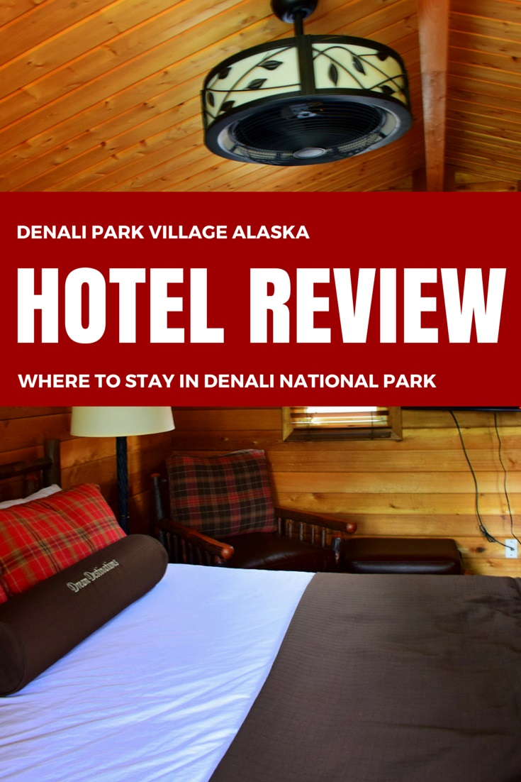 Where to stay in Denali National Park, Alaska.