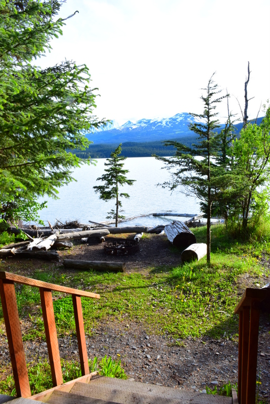 Secluded cabin retreat Alaska
