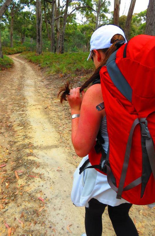 Hiking Maria Island, Tasmania.