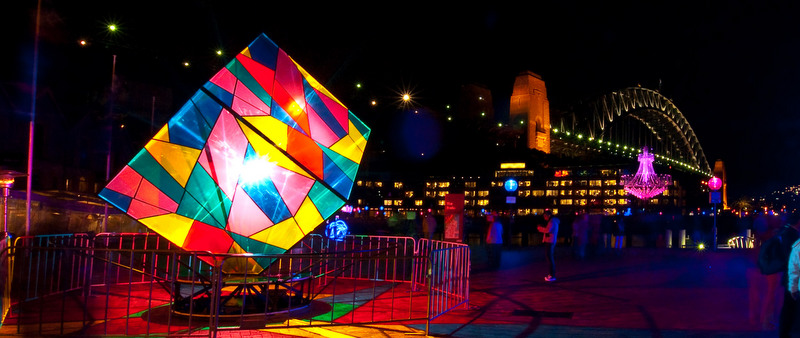 Sydney is the beautiful backdrop to the much-loved winter festival of lights, music and ideas, Vivid Sydney.